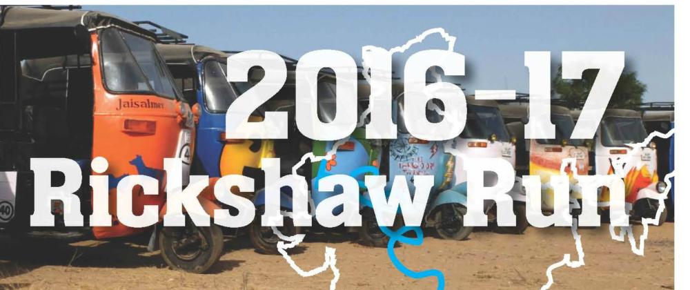 2016-2017 Rickshaw Run Fundraiser